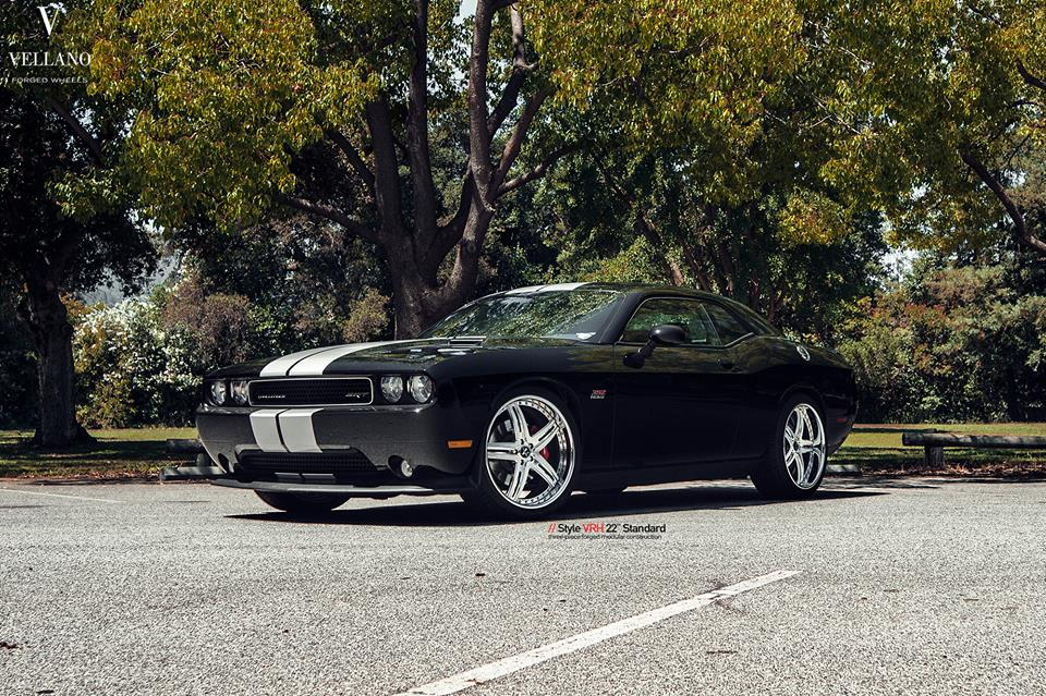 22 Inch Vellano VRH Rims Dodge Challenger SRT8 Tuning 5 22 Inch Vellano VRH Rims on Dodge Challenger SRT8