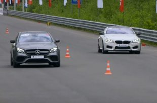 750PS BMW M6 F13 AWD Mercedes W213 E63 AMG RS7 1 310x205 Video: 750PS BMW M6 F13 vs. AWD Mercedes W213 E63 AMG & RS7