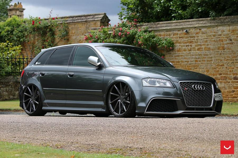 audi rs3 auf vossen cvt alu s mit airride fahrwerk magazin. Black Bedroom Furniture Sets. Home Design Ideas