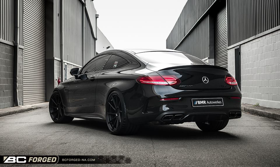 BC Forged Wheels HCA210 Mercedes Benz C63S Coupé 1 BC Forged Wheels HCA210 auf Mercedes Benz C63S Coupé