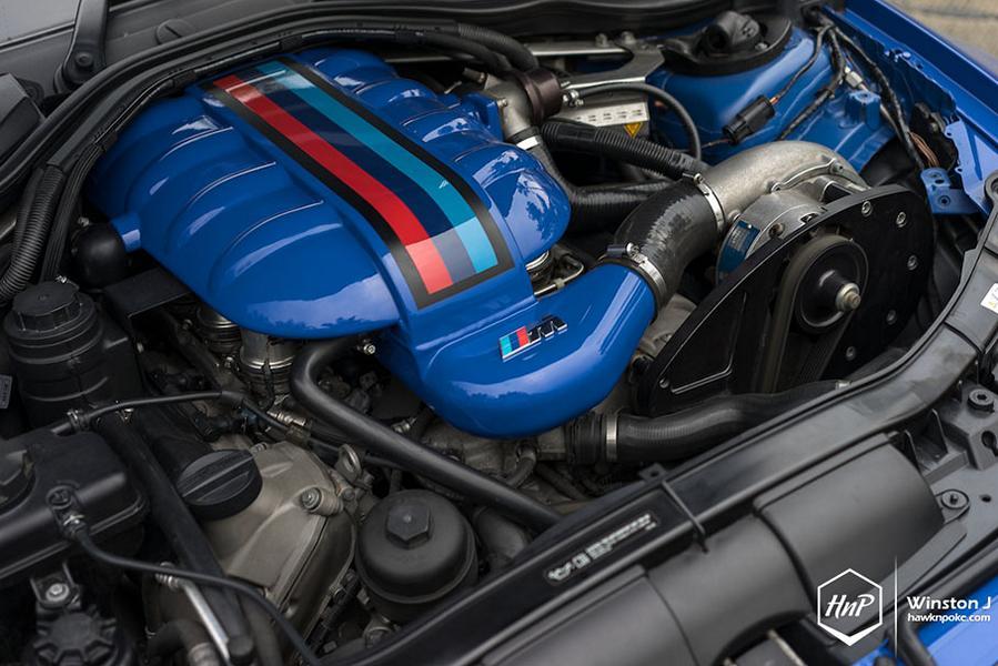 BMW E92 M3 ESS Kompressor HRE P101 Tuning 15 Mächtig   650PS BMW E92 M3 Coupe auf HRE P101 Felgen