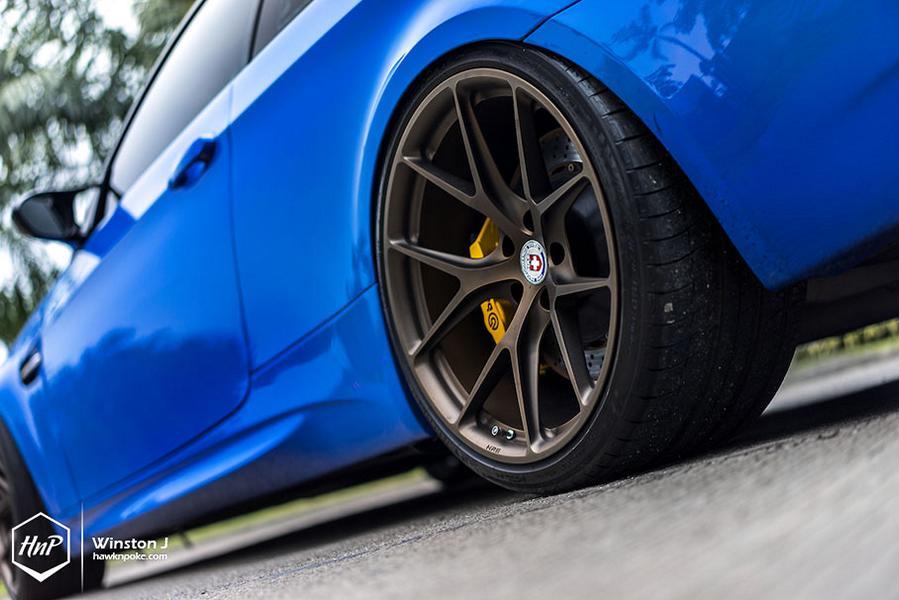 BMW E92 M3 ESS Kompressor HRE P101 Tuning 16 Mächtig   650PS BMW E92 M3 Coupe auf HRE P101 Felgen