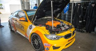 BMW M4 F82 Driftcar M3 V8 Motor Widebody Kit 5 310x165 Video: G Power BMW M4 F82 Driftcar mit M3 V8 Motor