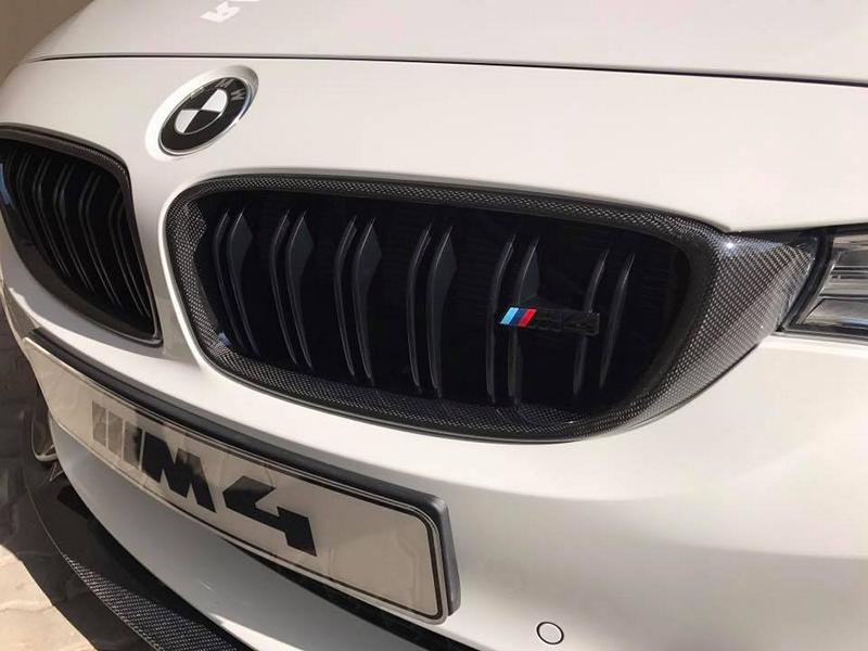 BMW M4 F82 Vorsteiner Bodykit Tuning 6 RACE! South Africa   BMW M4 F82 Coupe mit Bodykit