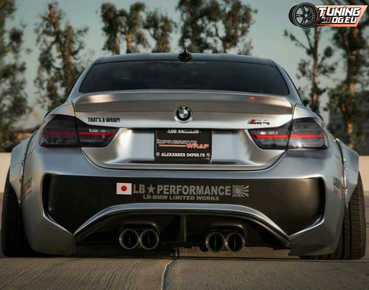 BMW M4 F82 Widebodykit tuningblog Liberty Noch fetter   BMW F82 M4 Widebody by tuningblog.eu