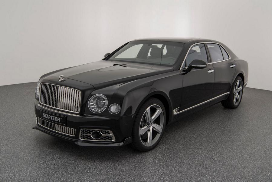Bentley Mulsanne Bodykit STARTECH Tuning 7 Luxuriöser Bentley Mulsanne mit Bodykit von STARTECH