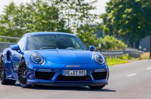 Blue Arrow Porsche 911 Turbo S 991 Edo Competition Tuning 1 310x205 344 km/h im Porsche 911 Turbo S von Edo Competition