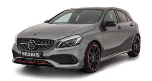 Chiptuning Facelift Mercedes A45 AMG W176 1 310x165 Brabus   400PS & 500NM auch im Facelift Mercedes A45 AMG