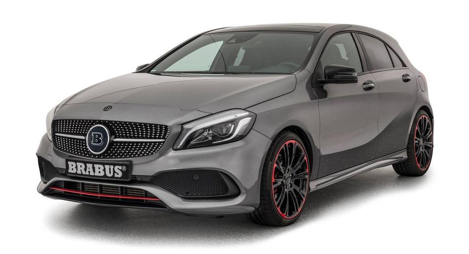 Chiptuning Facelift Mercedes A45 AMG W176 1 Brabus   400PS & 500NM auch im Facelift Mercedes A45 AMG