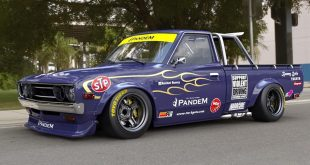 Datsun 620 Pickup Pandem rocektbunny Widebody Kit Tuning 1 310x165 Datsun 620 Pickup mit Pandem rocektbunny Widebody Kit