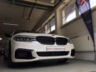 Diamond White Vollfolierung BMW G30 550i 2M Designs Tuning 6 190x143 Diamond White Vollfolierung am BMW G30 550i von 2M Designs