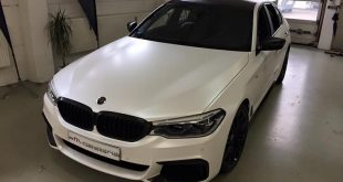Diamond White Vollfolierung BMW G30 550i 2M Designs Tuning 7 310x165 Diamond White Vollfolierung am BMW G30 550i von 2M Designs