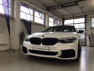 Diamond White Vollfolierung BMW G30 550i 2M Designs Tuning 9 190x143 Diamond White Vollfolierung am BMW G30 550i von 2M Designs