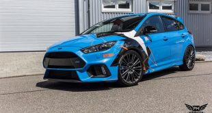Ford Focus RS Folierung Tuning 6 310x165 Hat was   Camouflage Folierung an der Mercedes A Klasse