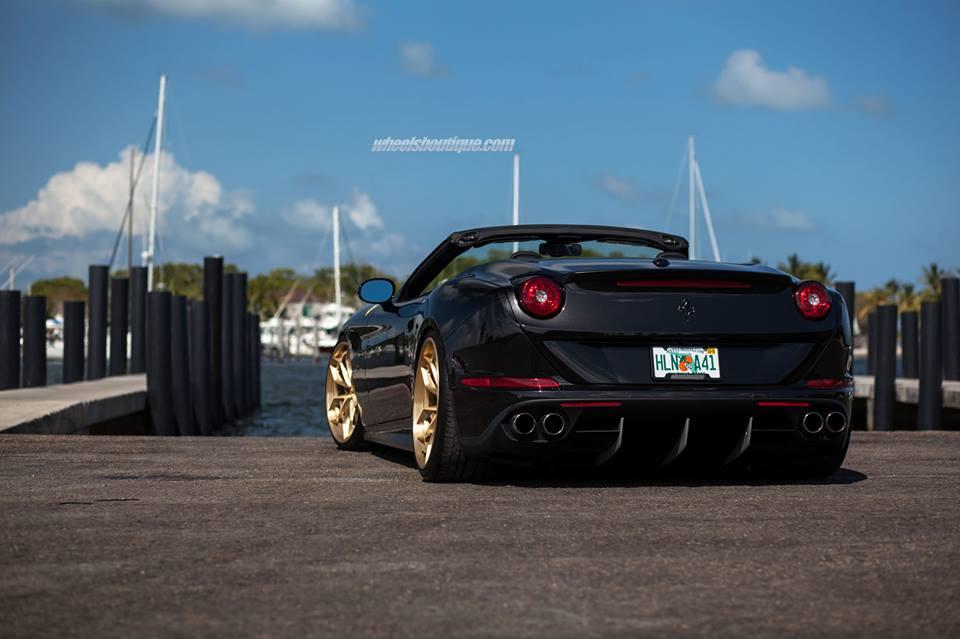 HRE Performance S201H Felgen Ferrari California T Tuning 3 Ferrari California T auf HRE Performance S201H Felgen