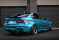 HRE R101LW BMW M3 F80 Atlantis Blue Tuning 10 190x129 Atlantis Blau & Brixton Forged Wheels am BMW M3 F80