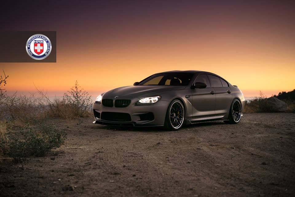 HRE RS100 Felgen BMW M6 Gran Coupe Tuning Bodykit 1 Super dezent   HRE RS100 Felgen am BMW M6 Gran Coupe
