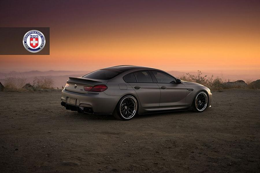 HRE RS100 Felgen BMW M6 Gran Coupe Tuning Bodykit 5 Super dezent   HRE RS100 Felgen am BMW M6 Gran Coupe