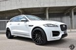 Jaguar F Pace Hamann Motorsport Widebody Tuning 11 155x103 Mega schick   Jaguar F Pace Hamann Widebody by DS