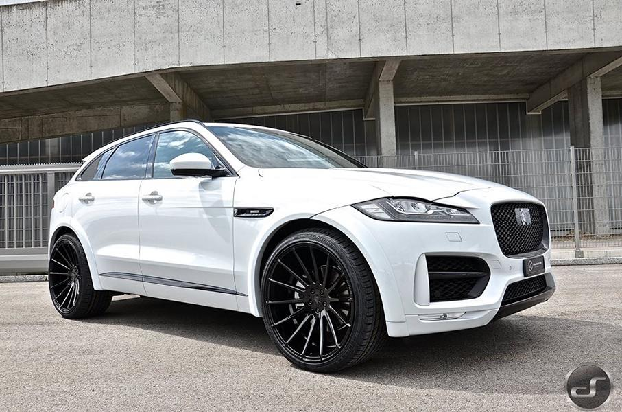 mega schick jaguar f pace hamann widebody by ds. Black Bedroom Furniture Sets. Home Design Ideas