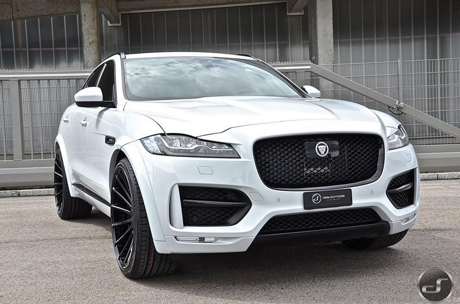 Jaguar F Pace Hamann Motorsport Widebody Tuning 15 Mega schick   Jaguar F Pace Hamann Widebody by DS