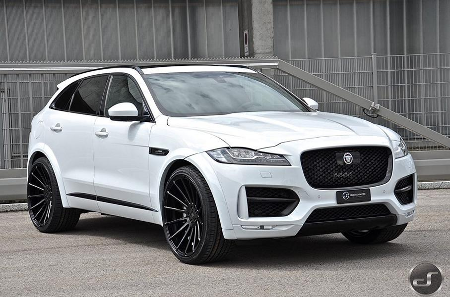 Mega Schick Jaguar F Pace Hamann Widebody By Ds Tuningblog Eu Magazin