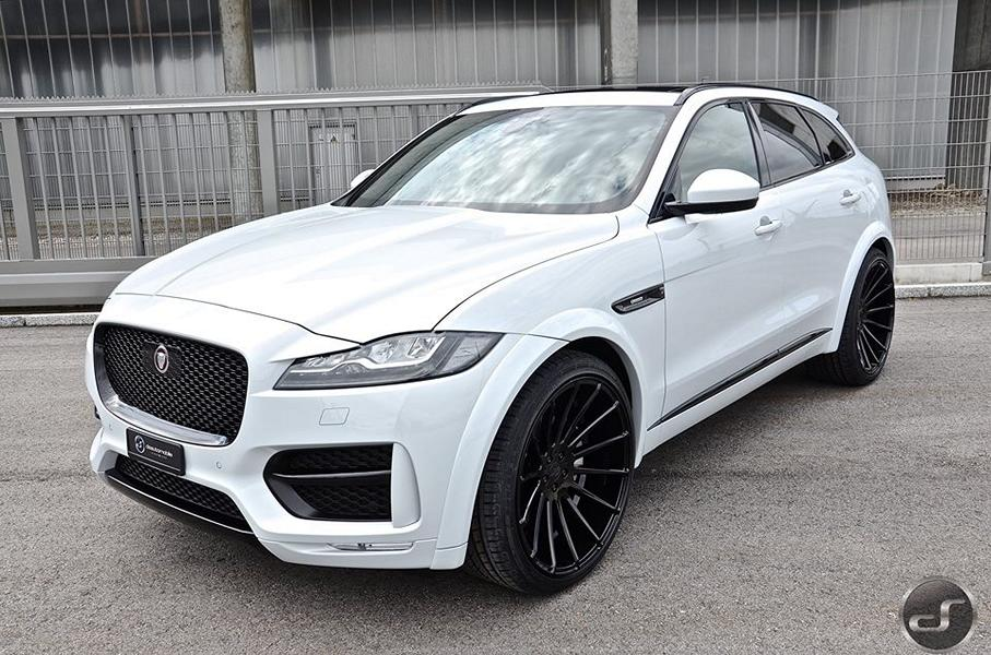 Jaguar F Pace Hamann Motorsport Widebody Tuning 19 Mega schick   Jaguar F Pace Hamann Widebody by DS
