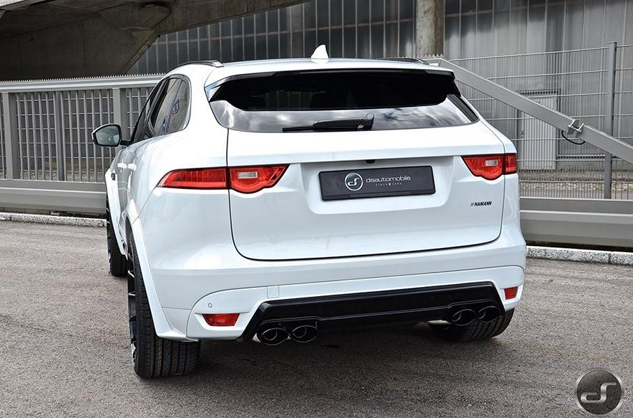 Jaguar F Pace Hamann Motorsport Widebody Tuning 2 Mega schick   Jaguar F Pace Hamann Widebody by DS