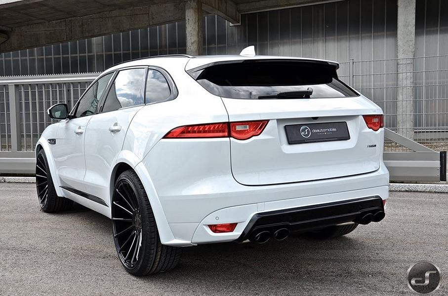 jaguar f pace hamann motorsport widebody tuning 5. Black Bedroom Furniture Sets. Home Design Ideas