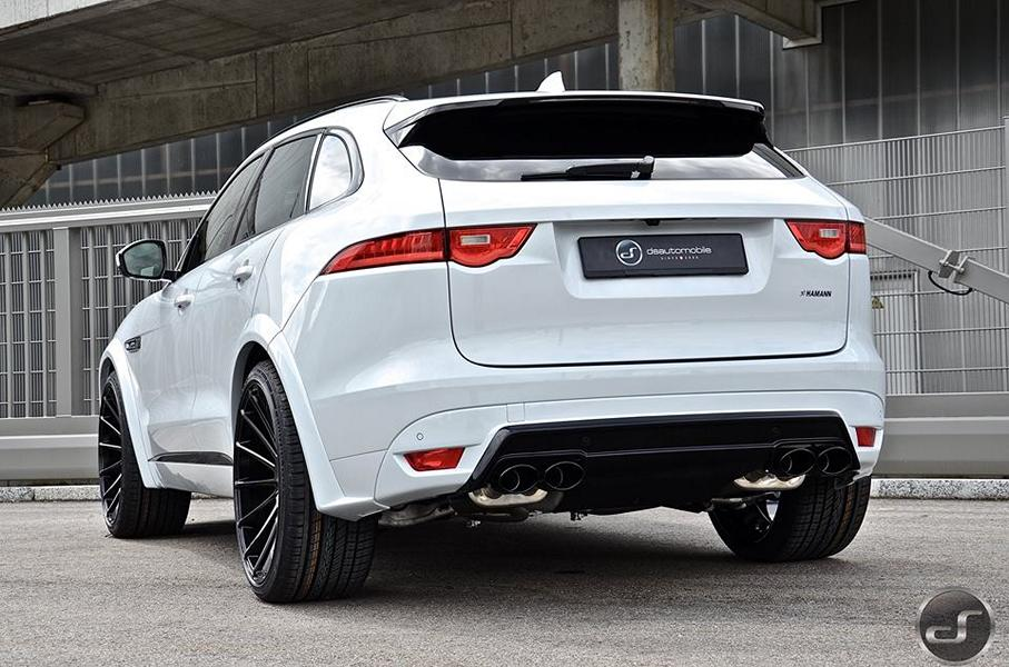 jaguar f pace hamann motorsport widebody tuning 7. Black Bedroom Furniture Sets. Home Design Ideas