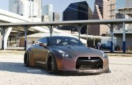 Liberty Walk Widebody Nissan GT R Strasse SPR5 1 190x123 Liberty Walk Widebody Nissan GT R auf Strasse SP5R Alu's