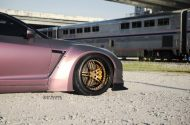 Liberty Walk Widebody Nissan GT R Strasse SPR5 10 190x125 Liberty Walk Widebody Nissan GT R auf Strasse SP5R Alu's