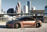 Liberty Walk Widebody Nissan GT R Strasse SPR5 2 190x131 Liberty Walk Widebody Nissan GT R auf Strasse SP5R Alu's