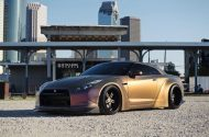 Liberty Walk Widebody Nissan GT R Strasse SPR5 5 190x125 Liberty Walk Widebody Nissan GT R auf Strasse SP5R Alu's