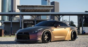 Liberty Walk Widebody Nissan GT R Strasse SPR5 5 310x165 Liberty Walk Widebody Nissan GT R auf Strasse SP5R Alu's