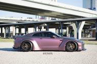 Liberty Walk Widebody Nissan GT R Strasse SPR5 8 190x126 Liberty Walk Widebody Nissan GT R auf Strasse SP5R Alu's