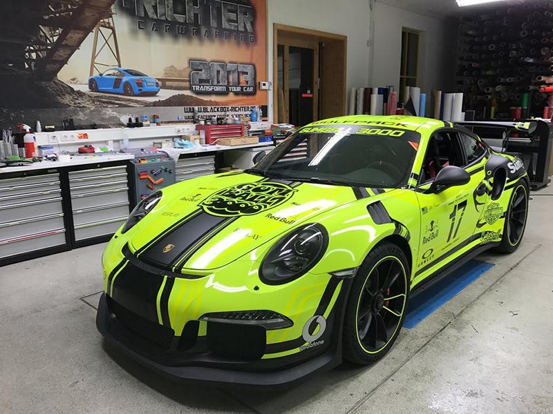 "Crazy ""Light Tron 911"" Porsche 991 GT3 RS by BBR tuningblog"