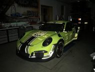 Light Tron 911 Porsche 991 GT3 RS Phosphor Folierung 3 190x143 Crazy   Light Tron 911   Porsche 991 GT3 RS by BBR