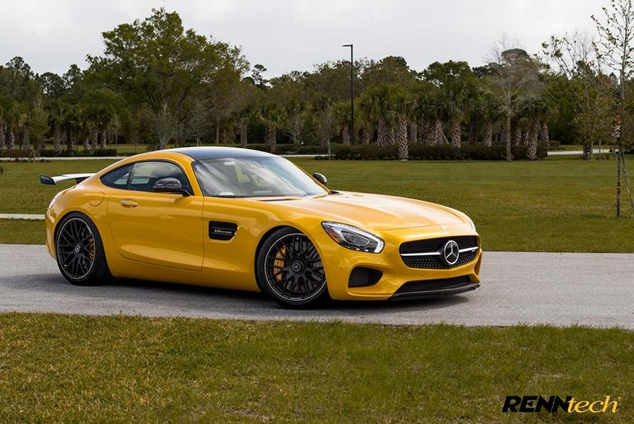 Mercedes AMG GT S Solarbeam RENNtech Tuning 5 620PS Mercedes AMG GT S in Solarbeam by RENNtech