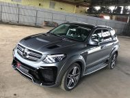 Mercedes Benz GLE SUV W166 Renegade Bodykit Tuning 1 190x144 Top   Mercedes Benz GLE SUV (W166) mit Renegade Bodykit