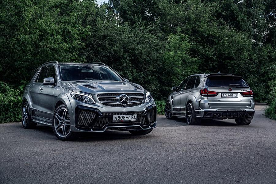 Mercedes Benz GLE SUV W166 Renegade Bodykit Tuning 10 Top   Mercedes Benz GLE SUV (W166) mit Renegade Bodykit