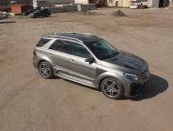 Mercedes Benz GLE SUV W166 Renegade Bodykit Tuning 7 190x144 Top   Mercedes Benz GLE SUV (W166) mit Renegade Bodykit
