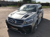 Mercedes Benz GLE SUV W166 Renegade Bodykit Tuning 9 190x144 Top   Mercedes Benz GLE SUV (W166) mit Renegade Bodykit