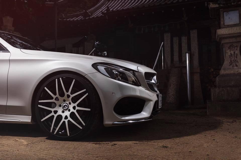 Mercedes C43 AMG C205 Forgiato Maglia Felgen Tuning 2 Mercedes C43 AMG (C205) auf Forgiato Maglia Felgen
