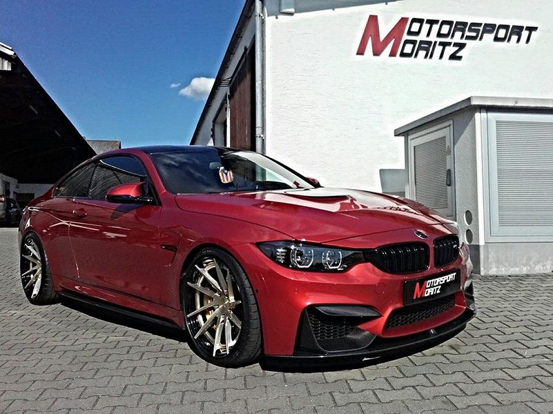 Motorsport Moritz BMW M4 F82 YP Forged 3.2 Carbon Tuning 6 Motorsport Moritz   BMW M4 F82 auf YP Forged 3.2 Felgen