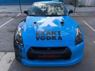 Nissan GT R Folierung EXAKT VODKA Tuning 16 190x143 Nissan GT R Vollfolierung in EXAKT VODKA Design by BB