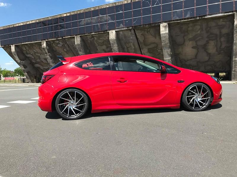 Ml Concept Opel Astra J Gtc On Tomason Tn17 Rims