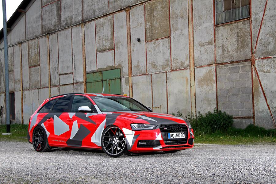 rs4 power im audi s4 avant vom tuner urban motors. Black Bedroom Furniture Sets. Home Design Ideas