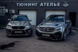 Renegade Design Bodykit BMW X5M F85 Mercedes GLE W166 SUV 18 155x103 Top   Mercedes Benz GLE SUV (W166) mit Renegade Bodykit