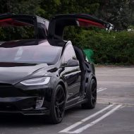 T Sportline Tesla Model X Bentley Interieur 16 190x190 Mega edel   T Sportline Tesla Model X mit Bentley Interieur